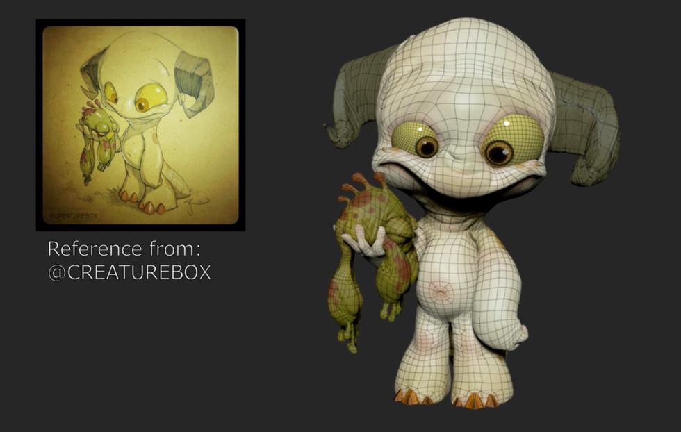 Creature Box Model