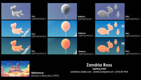 Cloud tests 01 by Zandria Ross