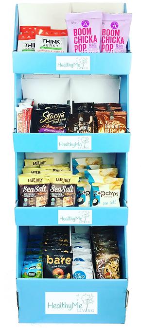 Healthy snack display