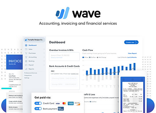 Invoicing And Accounting Overview WIX App Market Wixcom - Invoice wave