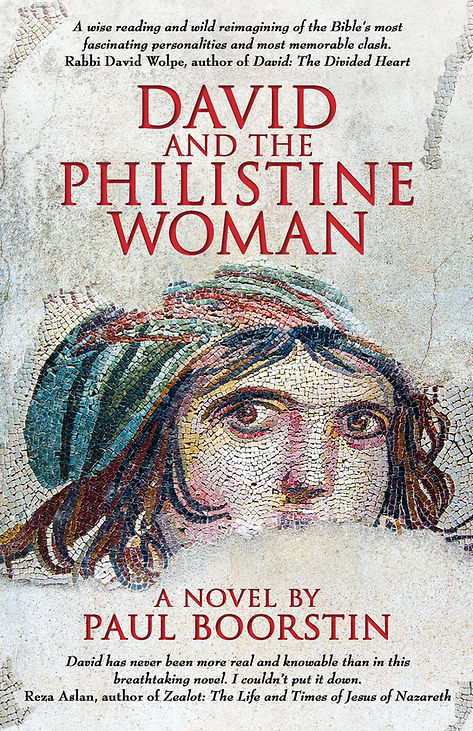 In his novel, David and the Philistine Woman, Paul Boorstin vividly reimagines the Bible story of David and Goliath. Like The Red Tent, this compelling historical novel appeals to Jewish and Christian readers, and with its strong female characters is perfect for women's book clubs.