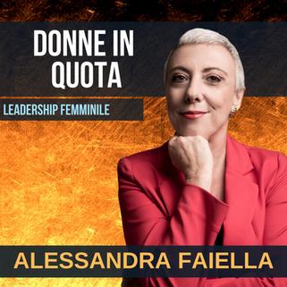 ALESSANDRA FAIELLA - DONNE IN QUOTA