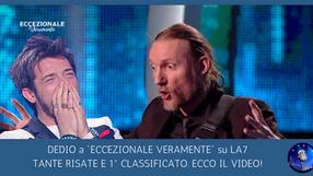 """Dedio 1° classificato e risate DA PAZZI alla 5° puntata di """"Eccezionale Veramente"""". Guarda il VIDEO"""