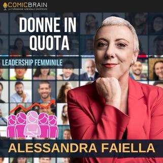Intervento in streaming webinar - ALESSANDRA FAIELLA DONNE IN QUOTA