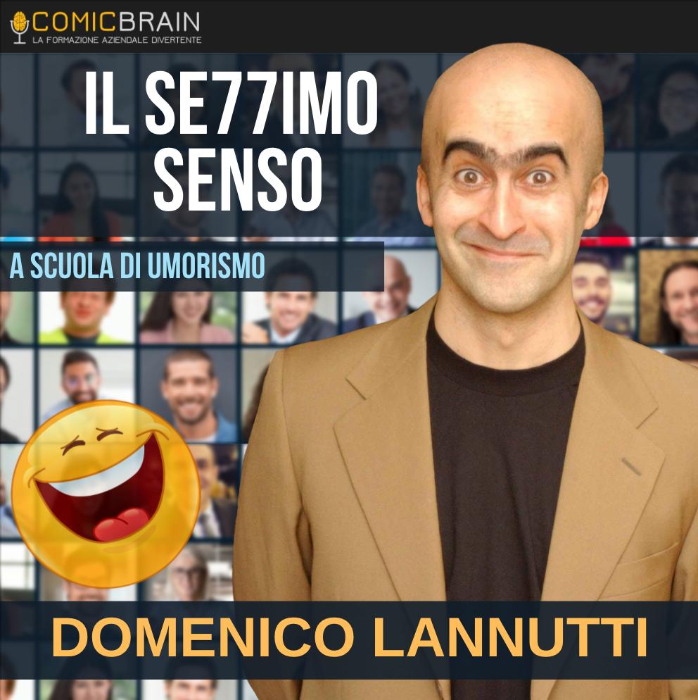 Intervento in streaming webinar - DOMENICO LANNUTTI - IL SETTIMO SENSO