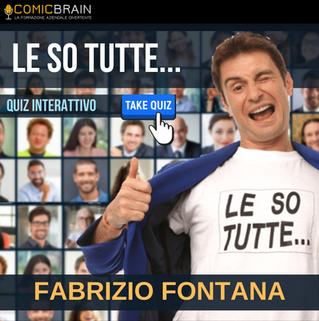 Intervento in streaming webinar - FABRIZIO FONTANA - LE SO TUTTE...