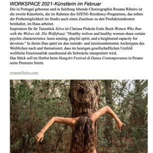 Selva at Szene´s Newsletter