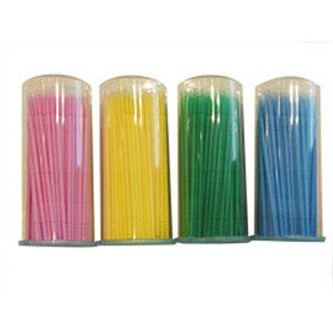 微型棉花棒4色 (短頭,一罐100支入)