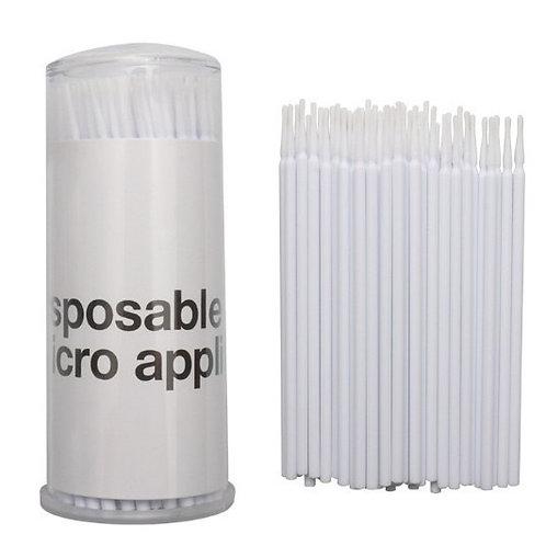 微型棉花棒 白色(長頭,一罐100支入)