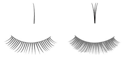 輕羽量睫毛說明圖1,日式接睫毛