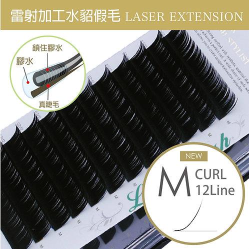 雷射加工水貂毛/M捲度 粗0.15mm