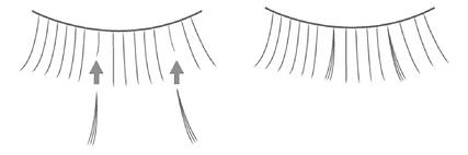 輕羽量睫毛說明圖2,日式美睫技術