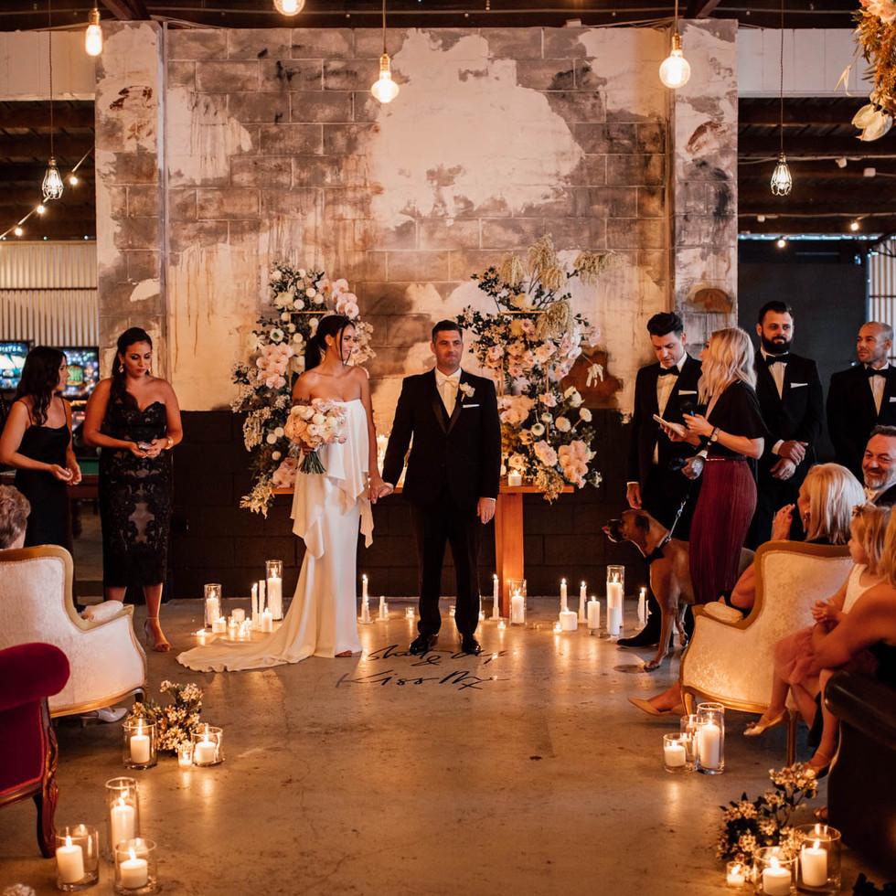 warehouse wedding gold coast