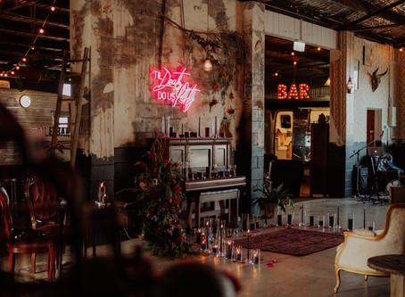 Christine + Mark Gold Coast Warehouse Wedding