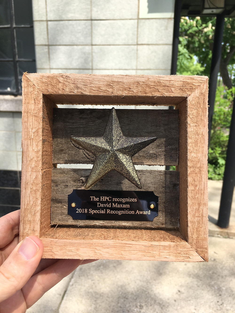 Thanks to the City of Grand Rapids Historic Preservation Commission for the award.