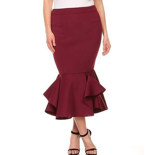 Mermaid Silhouette Skirt