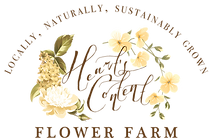 Antique Classy Chique Flowery Farm Logo Design