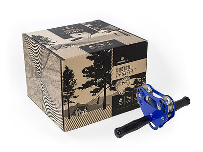 Classy Outdoors Zipline Rustics Box Package