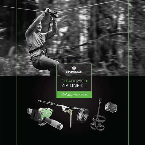 Classy Outdoors Zipline Rustics Box Package Design