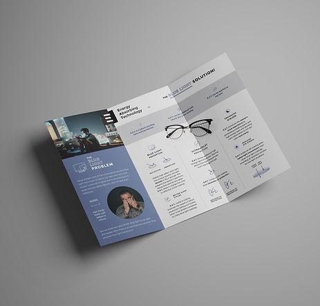 grants pass graphic design tri fold brochure modern contemporary