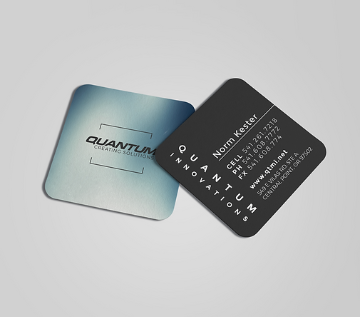 grants pass graphic design business card custom
