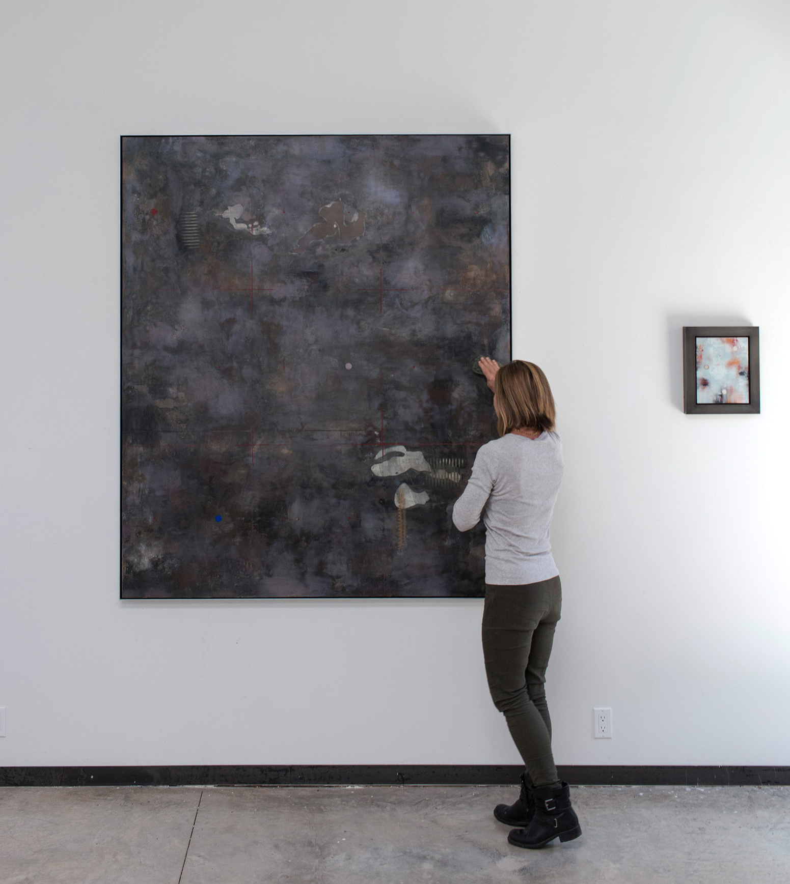 Exile, 72 x 60 inches