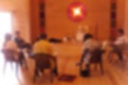 Bioscrittura a Casa Sangam, Gubbio