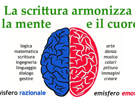 LA SCRITTURA È L'UNICA ARTE CHE ARMONIZZA LA MENTE E IL CUORE. Lezioni di scrittura terapeutica - 4