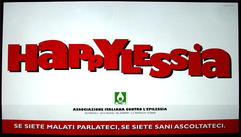 Associazione Italiaa contro l'Epilessia Poster