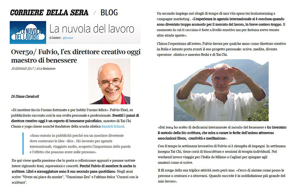 articolo de IL CORRIERE DELLA SERA