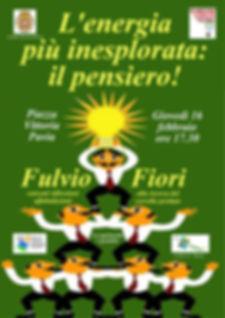 Spettacolo commissionato dal comune di Pavia per a giornaa nazionale M'ILLUMINO DI MENO
