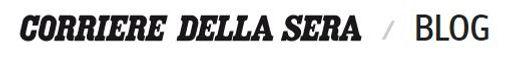 logo Corriere della sera blog