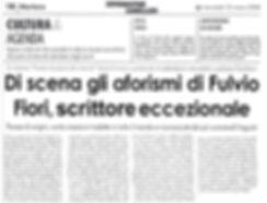 articolo de L'INFORMATORE LOMELLINO