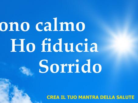 CREA IL TUO MANTRA DELLA SALUTE - N° 4