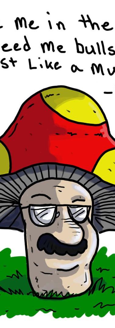 Mushroom Man Dean