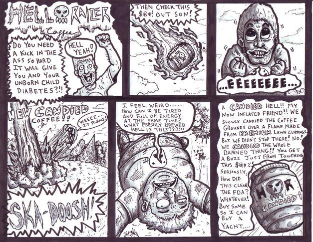 Hellraize Comic