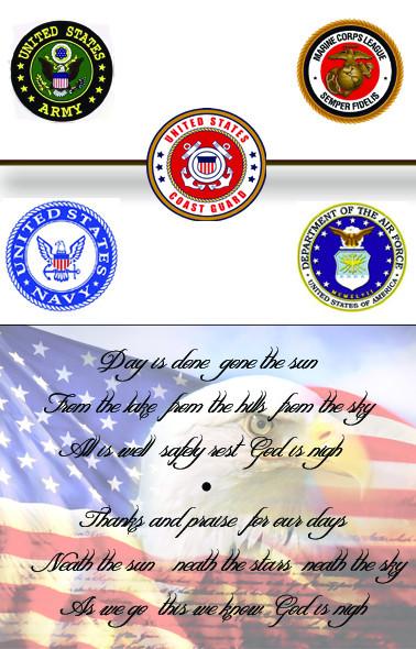 Marine Corps card Inside