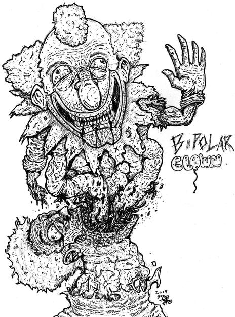 Bipolar clown