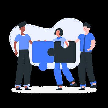 Connecting teams-rafiki.png