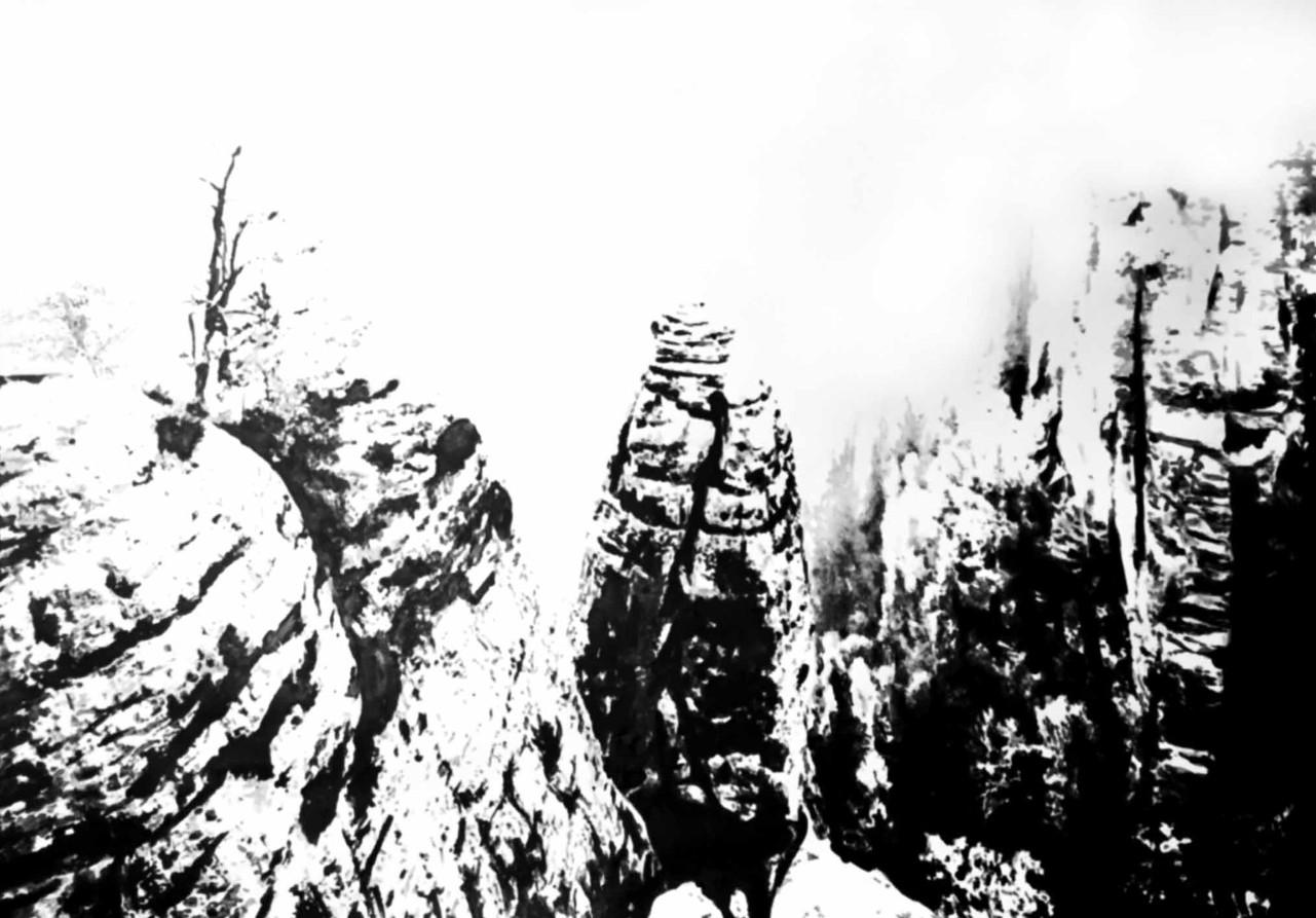 Gérard Lucian Ricard - Au coeur du Canyon