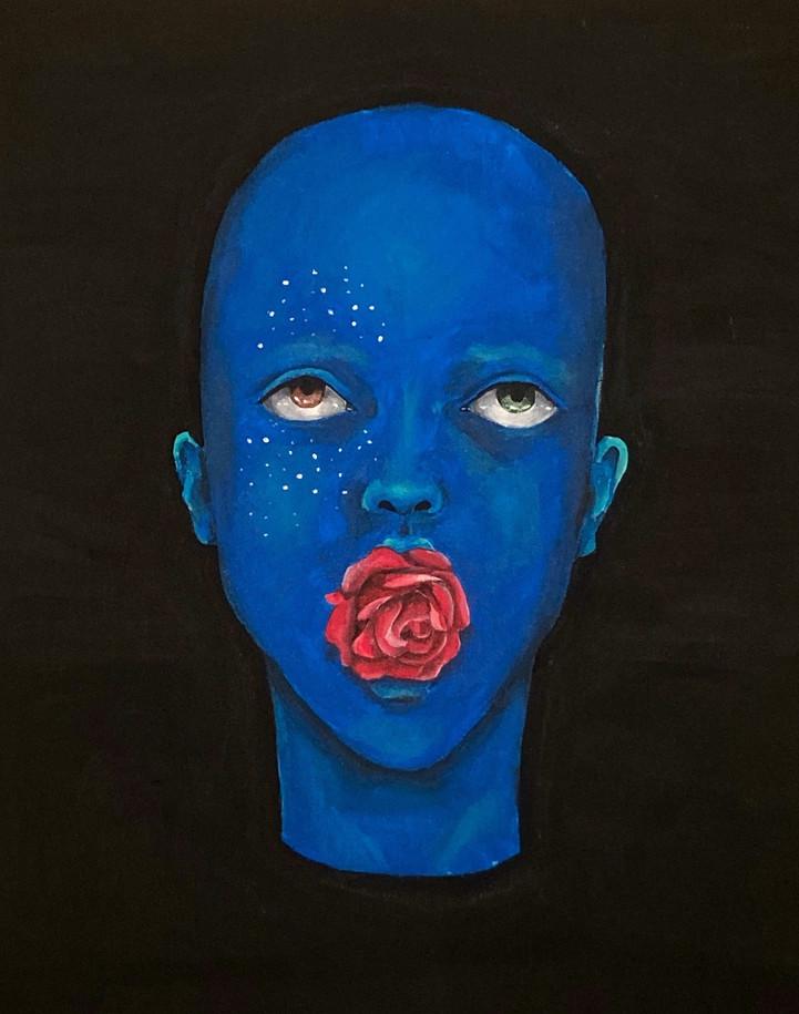 Acrylique 4 - rose