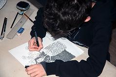 Thomas Fiorio - Prix Artistes d'Avenir 2020 - Blacknwhiteart
