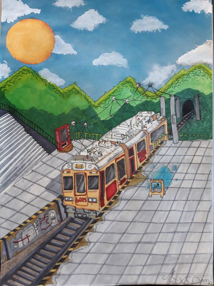 Le train montagnard
