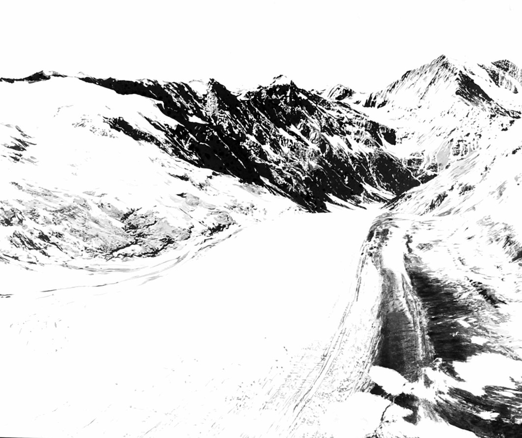 Gérard Lucian Ricard - La Montagne magique
