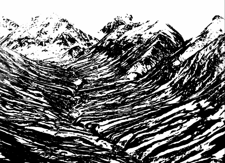 Gerard Lucian Ricard - The Big Crevasse