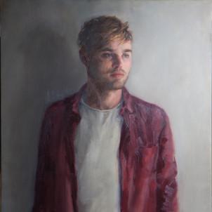 'Owen', 2017, Oil on Canvas, 82 x 138 cm