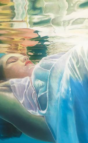 Dissolving Dreams, 60 x 60 cm, Acrylic on Canvas, £490
