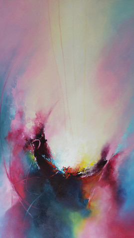 The Secret Place, 60 x 90 cm, Acrylic on Canvas, £1080