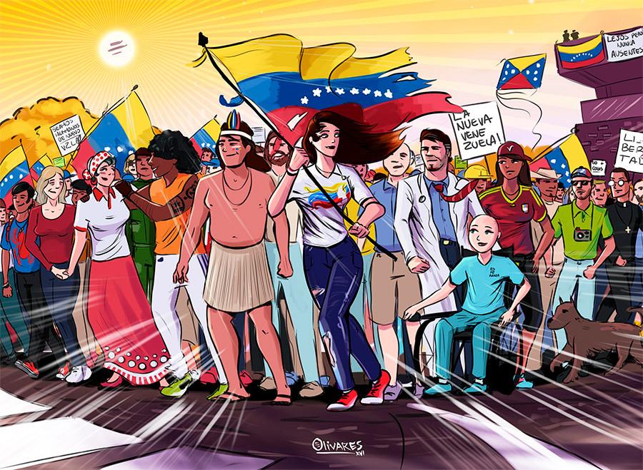 Oscar Olivares La nueva venezuela