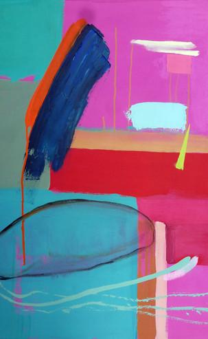 Resist, 92 x 66 cm, Oil on Canvas, £1800